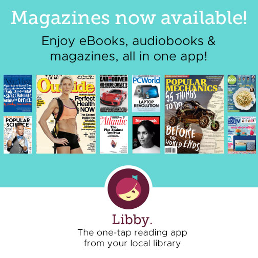 Magazines now available from Overdrive