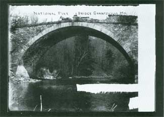 photo of National Pike Bridge - Grantsville MD