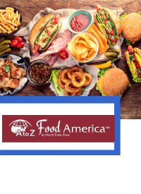 Image of various types of American Food