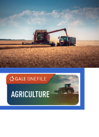 Farm eqipment in a wheat field