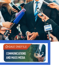 GOF logo with new media interviewing holding microphones