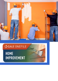 GOF logo with men painting, measuring, and drilling