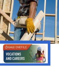 GOF logo with construction worker with blueprints
