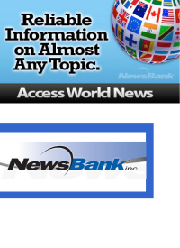 Access World News - globe with world flags
