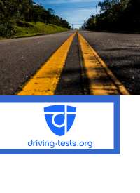 image of road with driving-tests.org logo