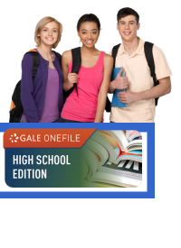 logo with teenages and backpacks