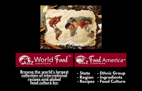 A to Z World Food and Food America