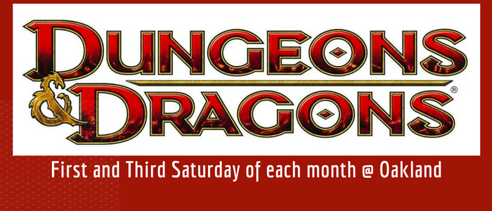 Dungeons and Dragons at the Oakland Library