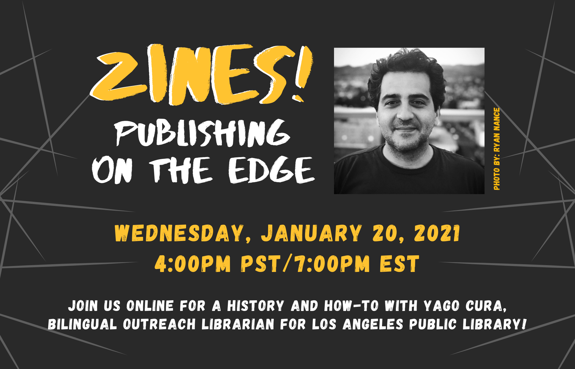 Zines! Publishing on the Edge (Online Event)