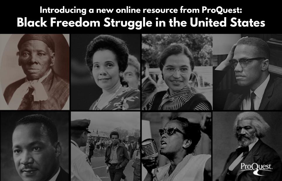 ProQuest Black Freedom Resource