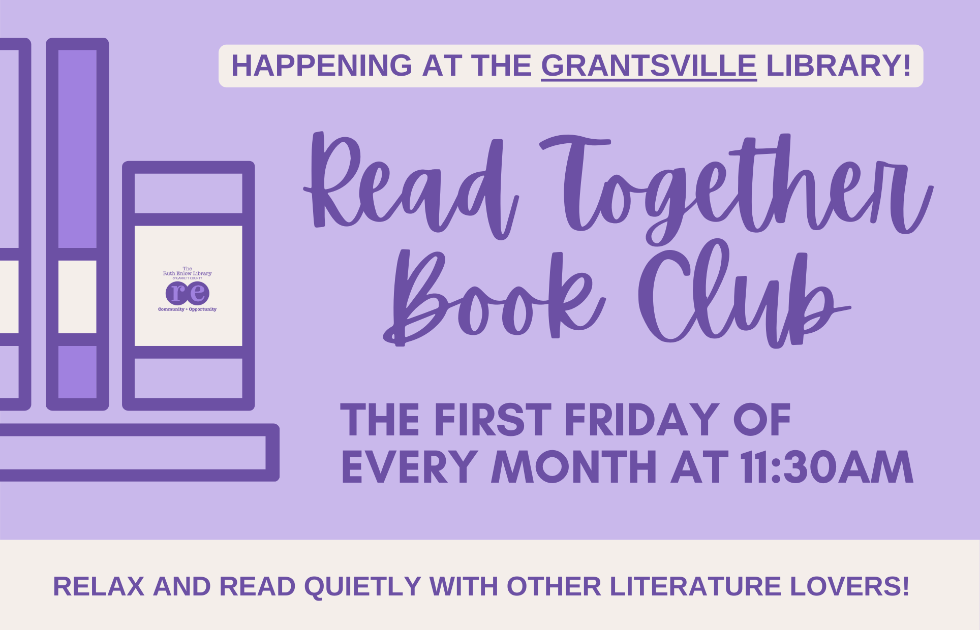 Grantsville Read Together Book Club