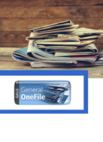 newspaper stack with General One File logo