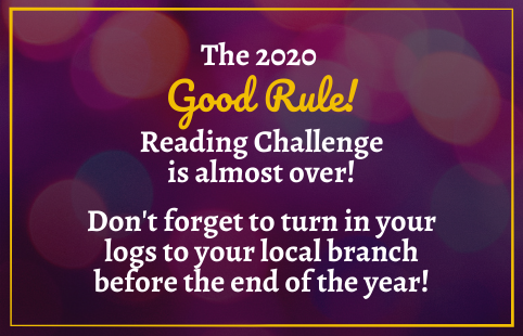 Good Rule Reading Challenge 2020