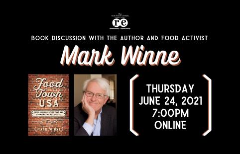 Mark Winne food activist author