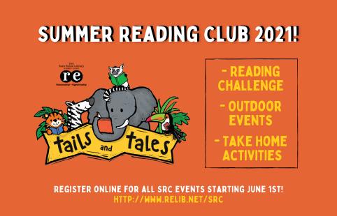 Summer Reading Challenge Club 2021