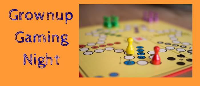 Grownup Gaming Night Slide
