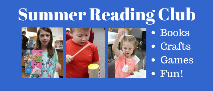 Summer Reading Club: Books, Crafts and Fun