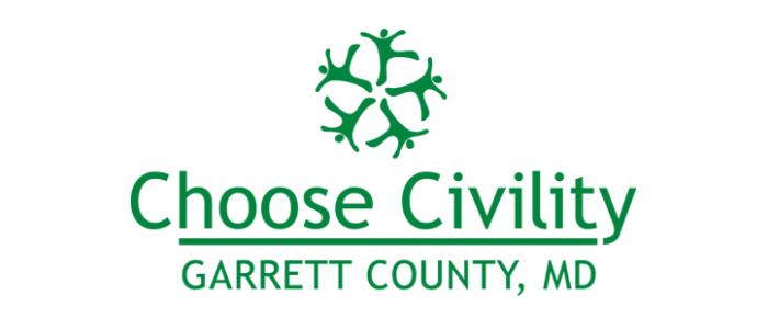 Choose Civility green swirl logo