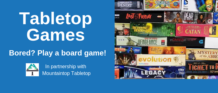 Image with tabletop board games