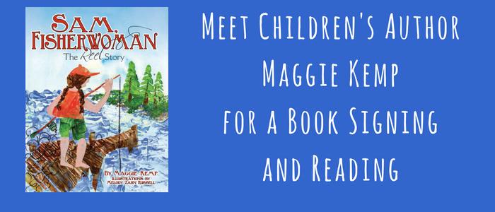 Meet Children's Author Maggie Kemp