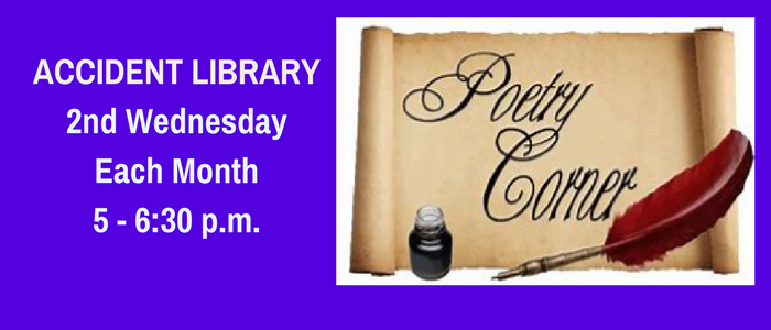 Poetry Corner at the Accident Library