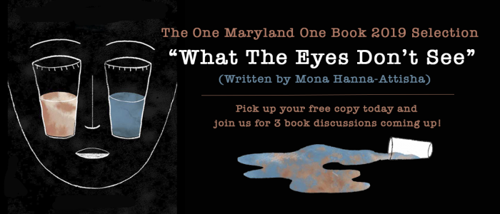 what the eyes don't see one maryland one book