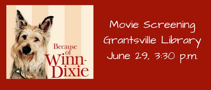Movie Screening of Because of Winn Dixie