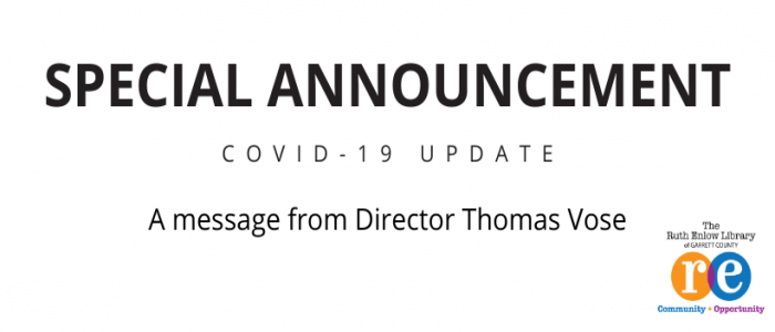 Special Announcement March 2020